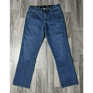(3/$35) Lee Sinfully Soft Embroidered Denim Jeans